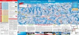 Mapa lyžařského střediska Ski Amadé