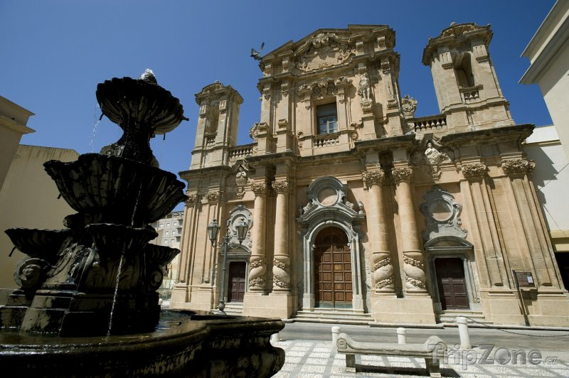 Fotka, Foto Marsala, kostel Chiesa del Purgatorio (Itálie)