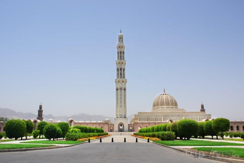 Fotka, Foto Maskat, mešita sultána Kábúse (Omán)