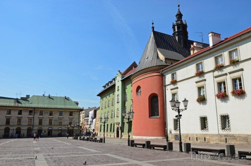 Fotka, Foto Náměstí ve čtvrti Stare Miasto (Krakov, Polsko)