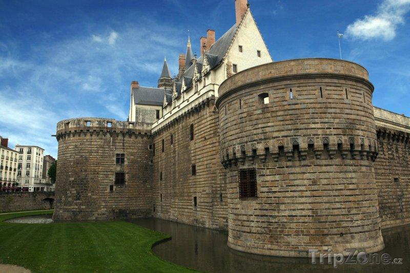 Fotka, Foto Nantes, zámek vévodů bretaňských (Francie)