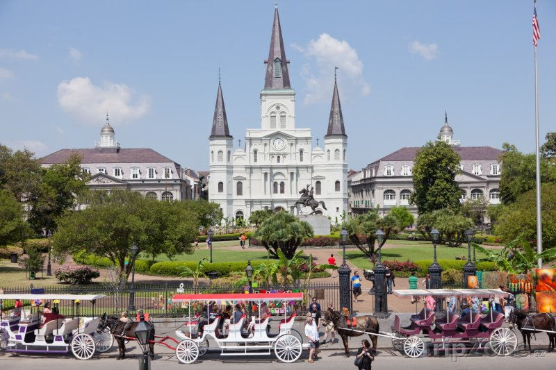 Fotka, Foto New Orleans, Jackson Square (USA)