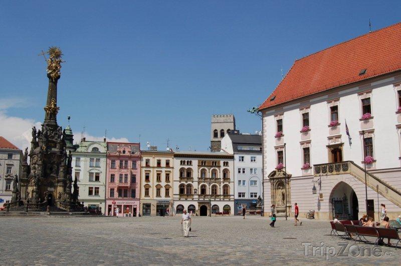 Fotka, Foto Olomouc, Sloup Nejsvětější trojice na Horním náměstí (Česká republika)