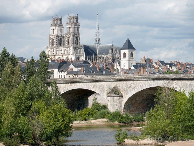Fotka, Foto Orléans, katedrála sv. Kříže (Francie)