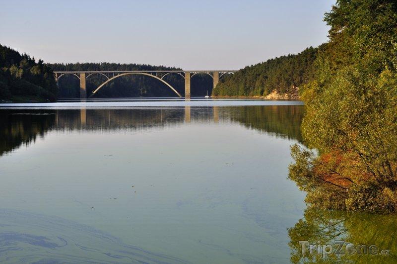 Fotka, Foto Orlická přehrada, Žďákovský most (Česká republika)