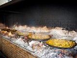 Paella, typické španělské jídlo podobné rizotu