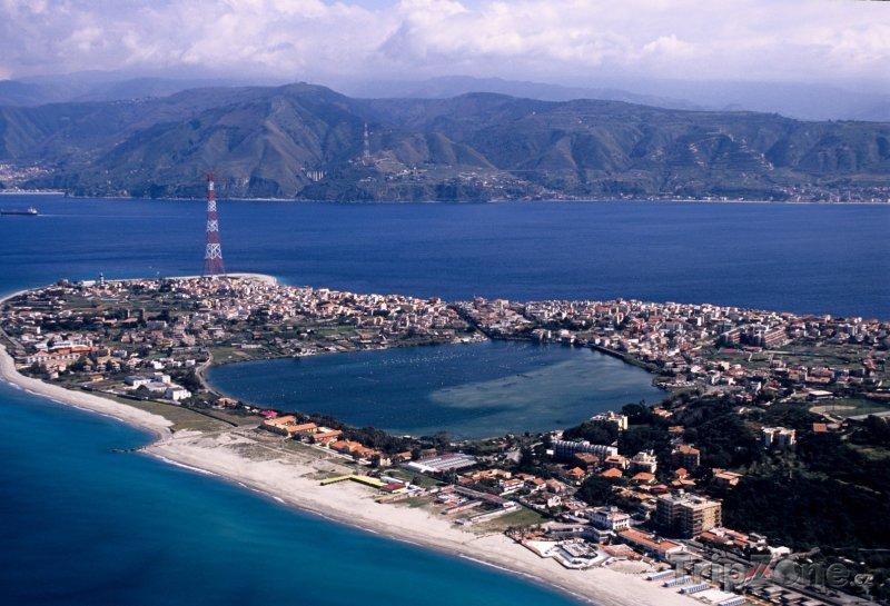 Fotka, Foto Panorama města Messina (Itálie)
