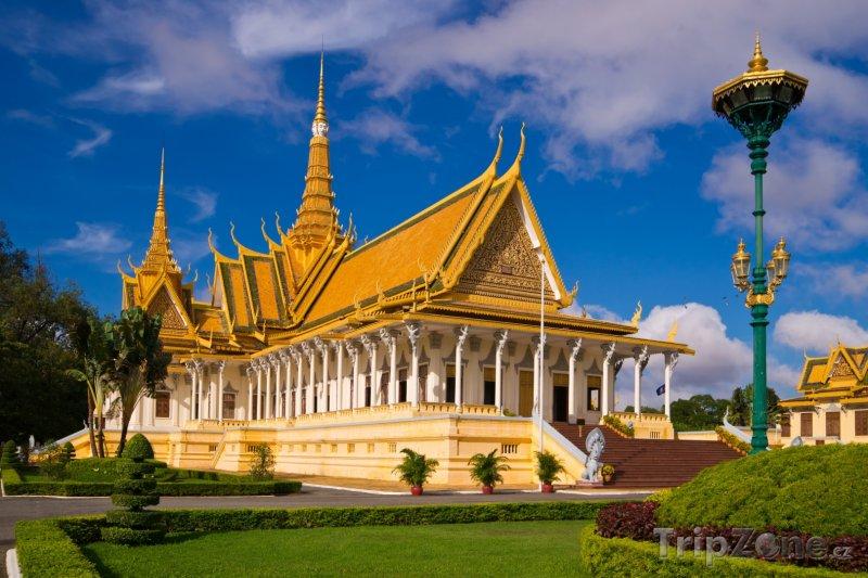 Fotka, Foto Phnompenh, Královský palác (Kambodža)