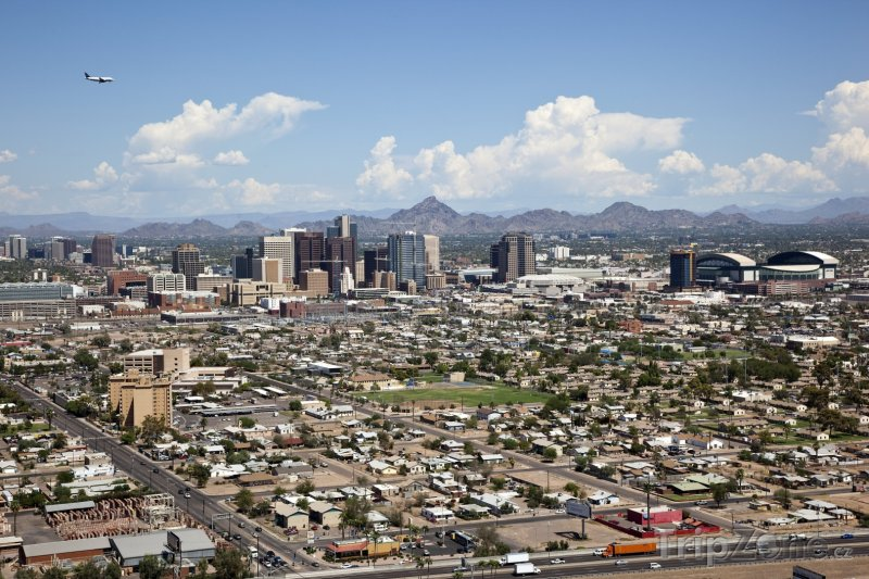 Fotka, Foto Phoenix, panorama města (USA)