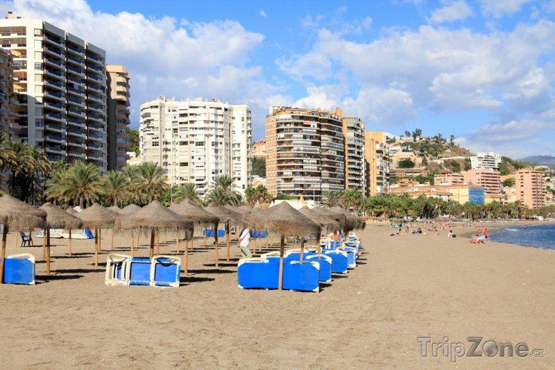 Fotka, Foto Pláž Malagueta (Málaga, Španělsko)