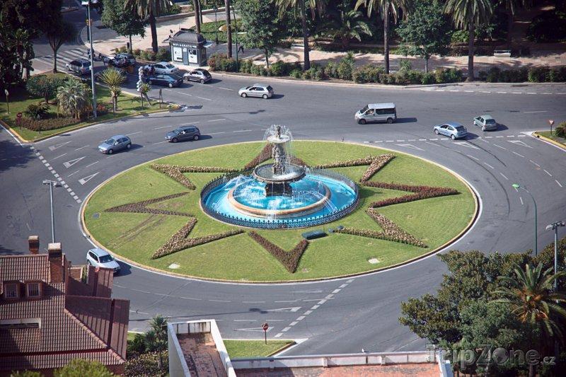 Fotka, Foto Plaza del General Torrijos (Málaga, Španělsko)