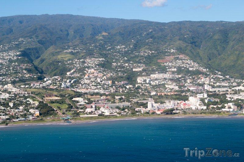 Fotka, Foto Pobřeží města Saint Denis (Réunion)
