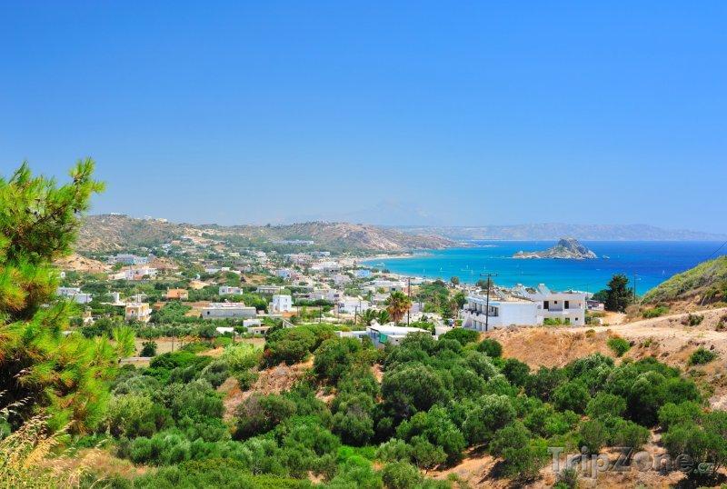 Fotka, Foto Pohled na letovisko Kefalos (Řecko)