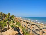 Pohled na pláž Marina d'Or