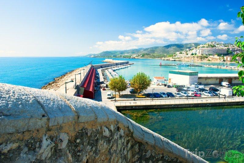 Fotka, Foto Pohled na přístav (Valencie, Španělsko)