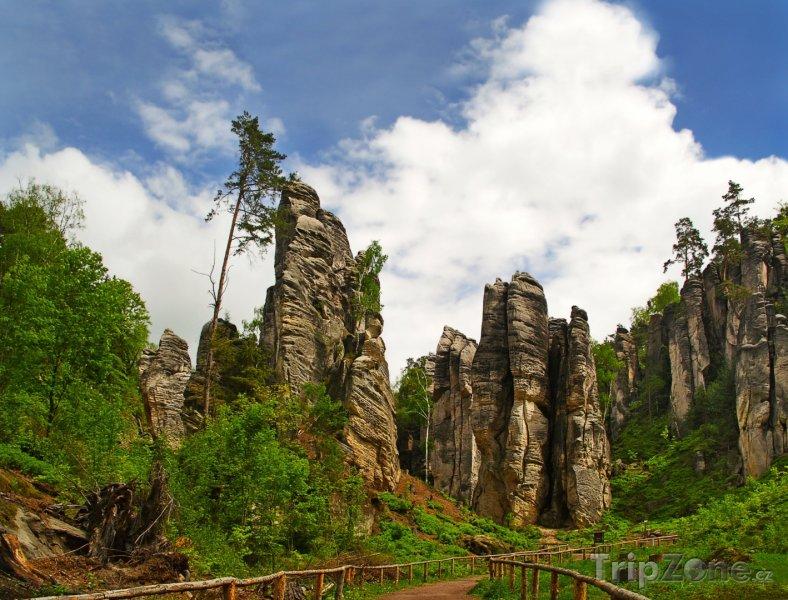 Fotka, Foto Prachovské skály, skalní věže (Česká republika)