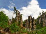 Prachovské skály, skalní věže