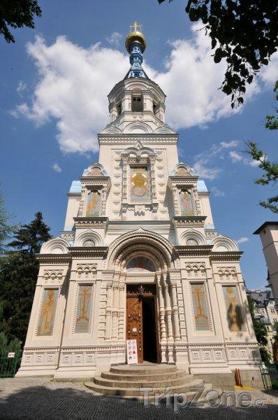 Fotka, Foto Pravoslavný kostel sv. Petra a Pavla (Karlovy Vary, Česká republika)