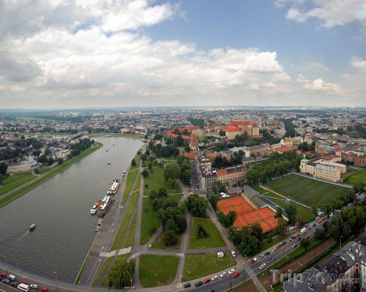 Fotka, Foto Řeka Visla (Krakov, Polsko)