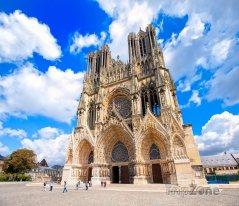 Remeš, katedrála Notre-Dame de Reims