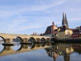 Řezno, kamenný most přes Dunaj