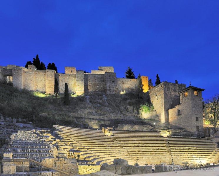 Fotka, Foto Ruiny římského divadla (Málaga, Španělsko)