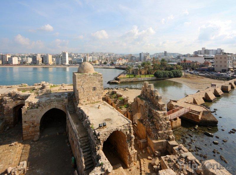Fotka, Foto Sidon, Mořský hrad (Libanon)