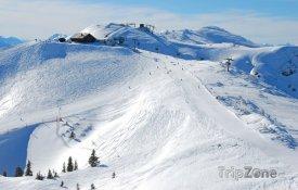 Sjezdovky z vrcholu hory Hochkar