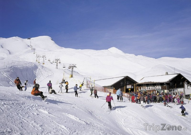 Fotka, Foto Ski areál Lauberhorn