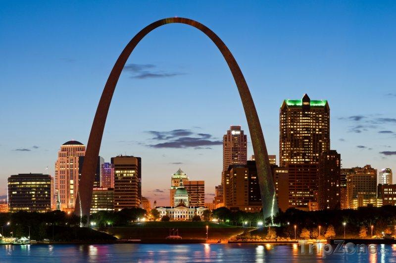 Fotka, Foto St. Louis, Gateway Arch (USA)
