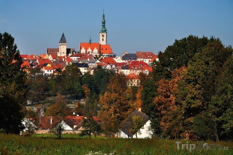 Fotka, Foto Tábor, pohled na historické centrum (Česká republika)