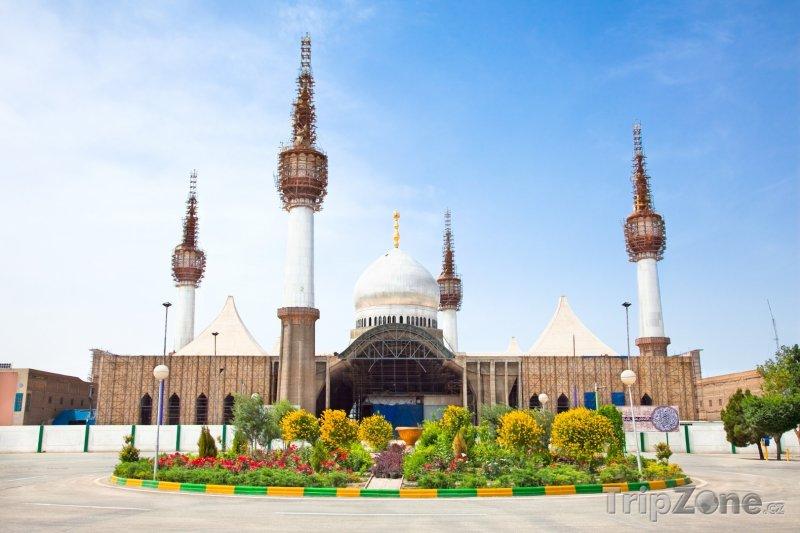 Fotka, Foto Teherán, svatyně mešity imáma Chomejního (Írán)