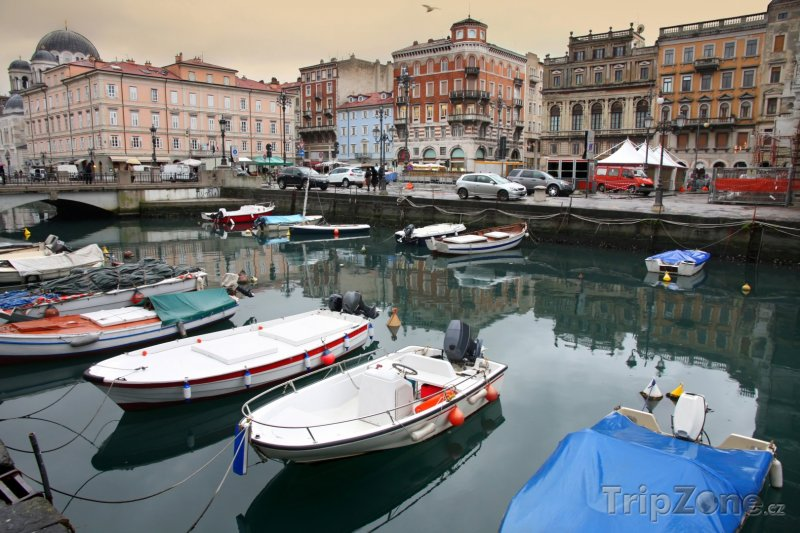 Fotka, Foto Terst, Canal Grande (Itálie)