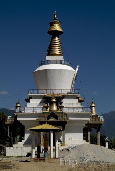 Fotka, Foto Thimphu, Památní stúpa (Bhútán)