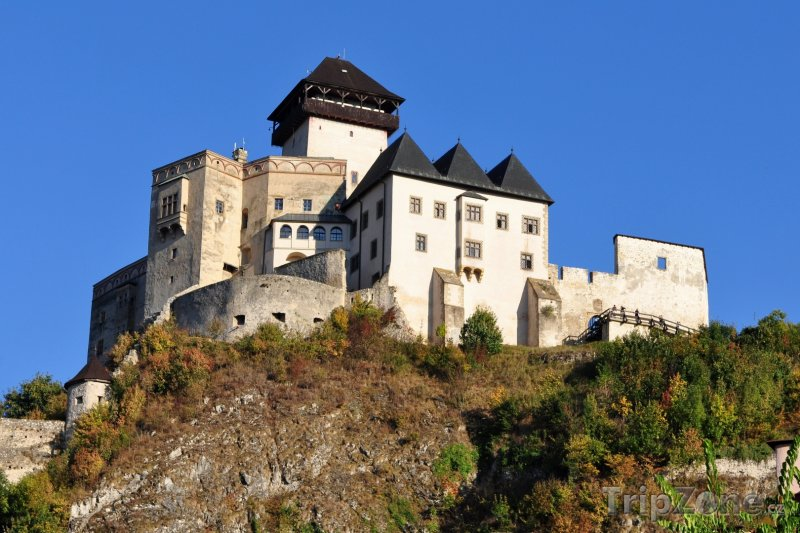 Fotka, Foto Trenčín, Trenčínský hrad (Slovensko)