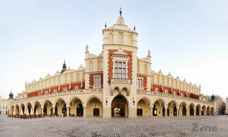 Fotka, Foto Tržnice (Sukiennice) na Hlavním náměstí (Krakov, Polsko)
