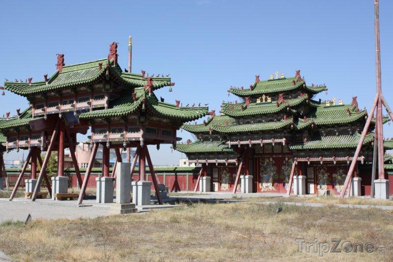 Fotka, Foto Ulánbátar, Zimní palác (Mongolsko)