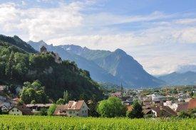 Vaduz, panorama města