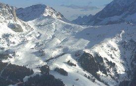 Val di Fassa, areál Belvedere-Col Rodella