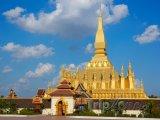 Vientiane, stúpa Pha That Luang