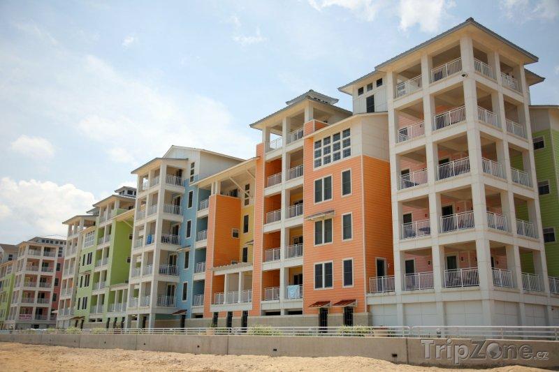 Fotka, Foto Virginia Beach, apartmány na pláži (USA)
