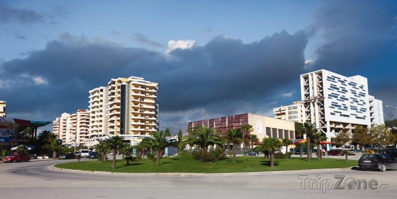 Fotka, Foto Vlore, centrum města (Albánie)