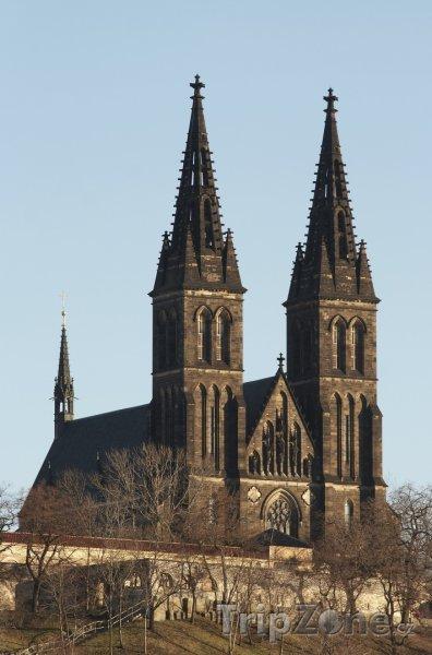 Fotka, Foto Vyšehrad, bazilika svatého Petra a Pavla (Praha, Česká republika)