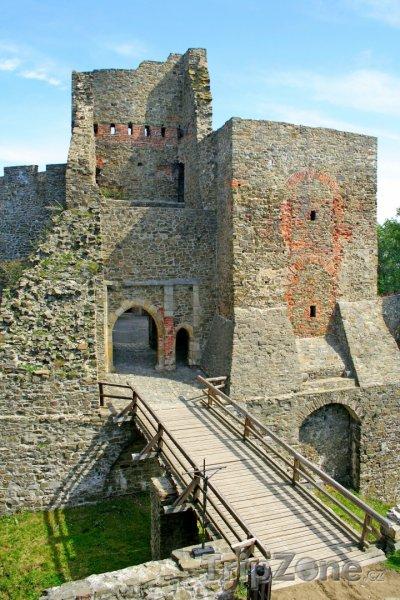 Fotka, Foto Zřícenina hradu Helfštýn (Česká republika)