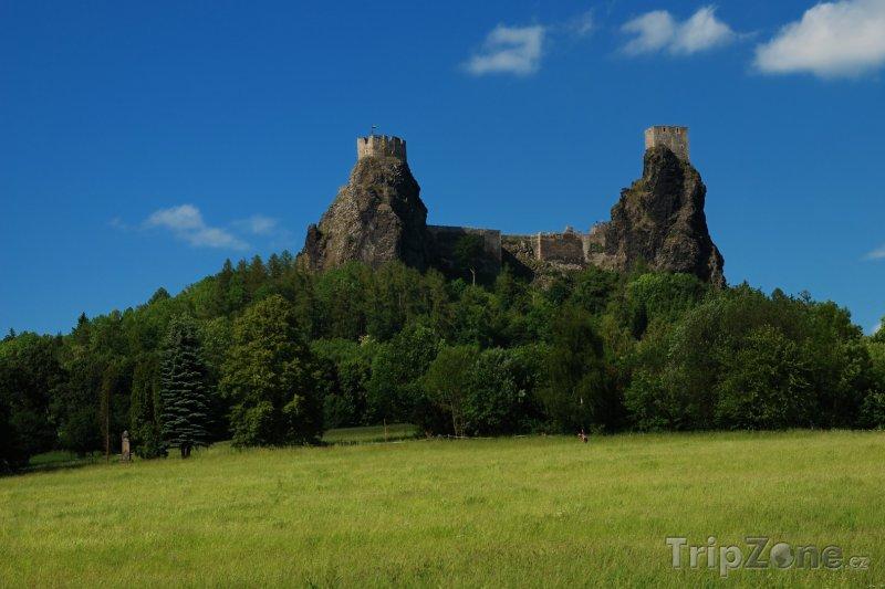 Fotka, Foto Zřícenina hradu Trosky (Česká republika)