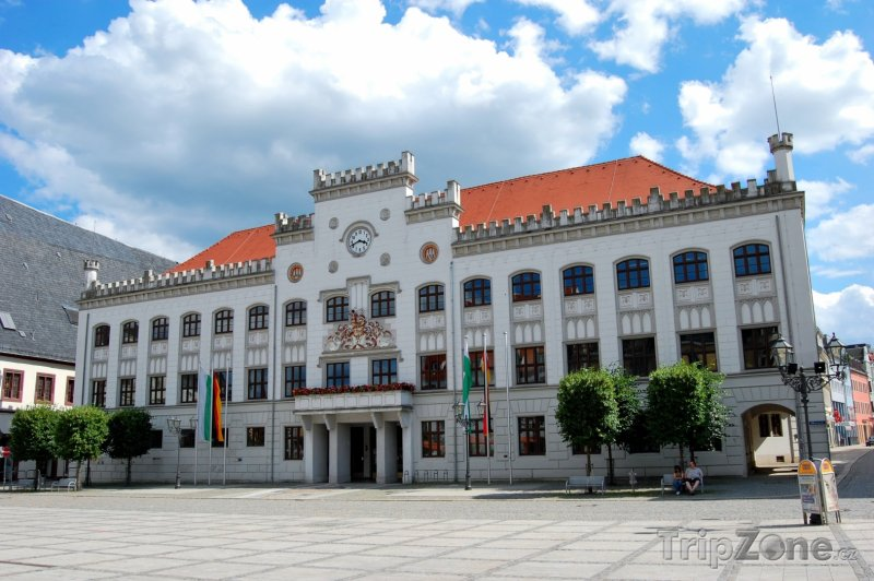 Fotka, Foto Zwickau, budova radnice (Německo)