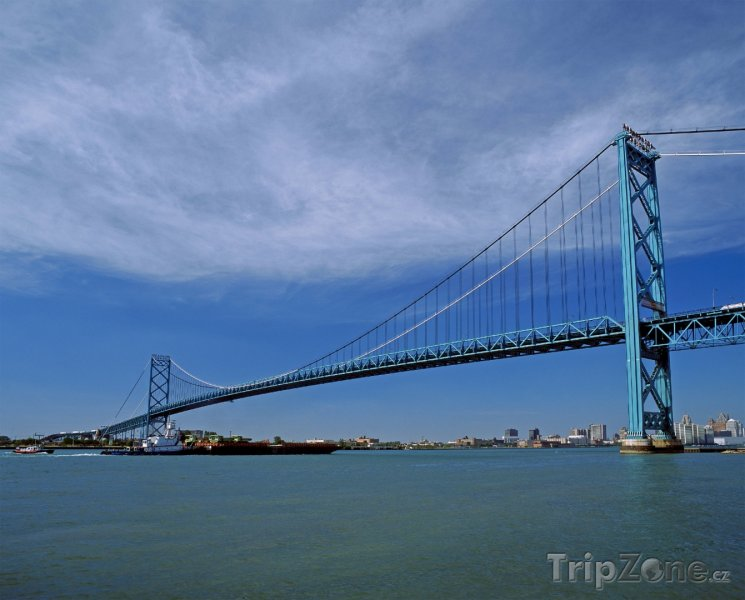 Fotka, Foto Ambassador Bridge (Detroit, USA)