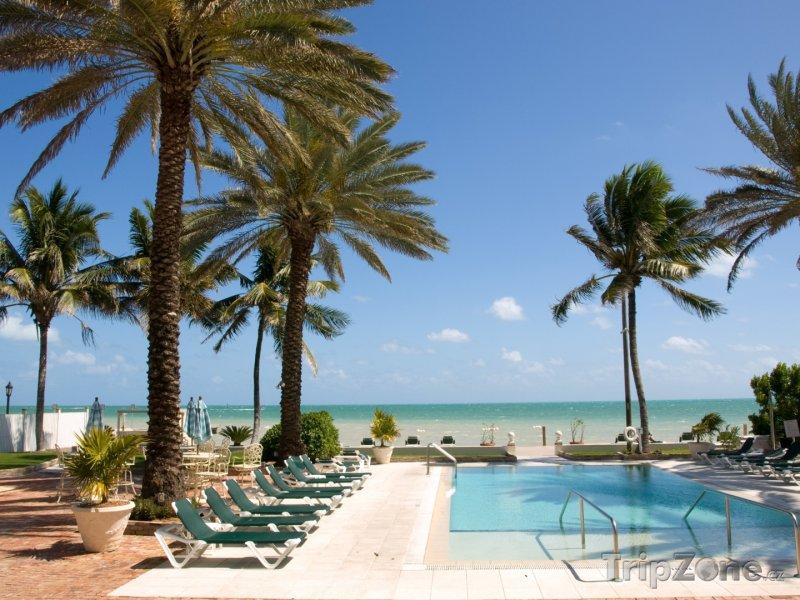 Fotka, Foto Bazén u pláže (Key West, USA)