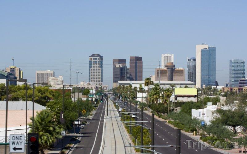 Fotka, Foto Central Avenue v centru města (Phoenix, USA)