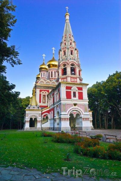 Fotka, Foto Chrám ve městě Shipka (Bulharsko)